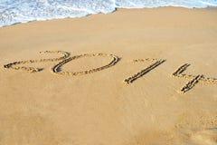 Drehung des Jahres 2013 bis 2014 Lizenzfreies Stockbild