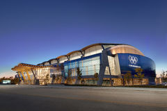 Drehzahl-Eislauf-Oval Richmond-2010 olympisches Stockfoto