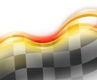 Drehzahl-Rennwagen-Hintergrund lizenzfreie abbildung