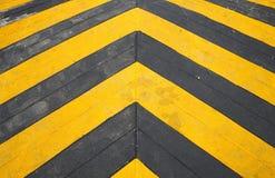 Drehzahlbuckel-Straßenmarkierung Lizenzfreie Stockbilder