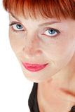 Dreißig Jahre alte Frau Lizenzfreies Stockbild