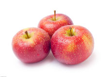 Drei Äpfel Stockfotos