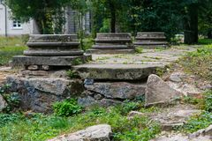 Drei Abwasserkanal hatchs Stockbild