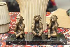 Drei Affen Stockbild