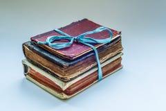 Drei alte Bücher Lizenzfreie Stockbilder