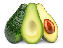 Drei Avocados Lizenzfreies Stockbild