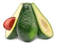 Drei Avocados Lizenzfreie Stockbilder
