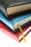 Drei Bücher Stockfotografie