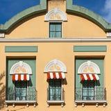 Drei Balkone Lizenzfreies Stockfoto