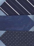 Drei blaue Gleichheit. Stockbilder