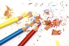 Drei Bleistifte Lizenzfreie Stockfotografie