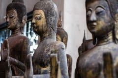 Drei Buddhas Stockfotos