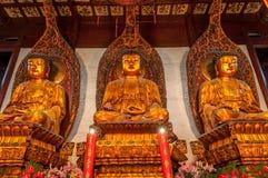 Drei Budhas Lizenzfreies Stockfoto