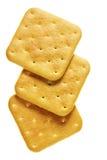 Drei Cracker lizenzfreie stockfotos
