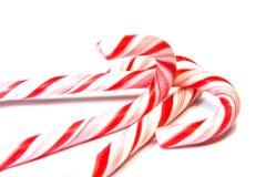 Drei Cristmas Süßigkeiten Stockfoto