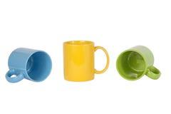 Drei Cup Stockfoto