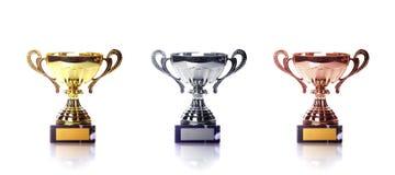 Drei Cup Lizenzfreie Stockbilder