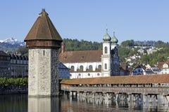 Drei der meisten erkennbaren Marksteine in der Luzerne Lizenzfreie Stockbilder