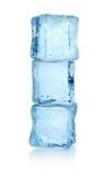 Drei Eiswürfel Lizenzfreies Stockfoto