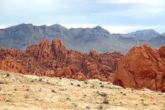 Drei Farben des Felsens stockbild