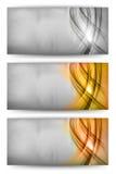 Drei Farbkarte Lizenzfreie Stockfotografie