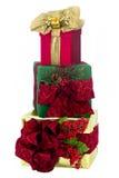 Drei Feiertags-Geschenke Stockbild