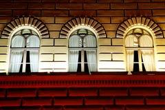 Drei Fenster Stockfotografie