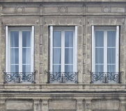Drei Fenster Stockbilder