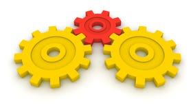 Drei Gänge. Konzept von B2B. Lizenzfreies Stockfoto