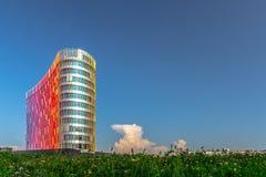 drei Geschäftsgebäuden oben betrachten Lizenzfreies Stockfoto