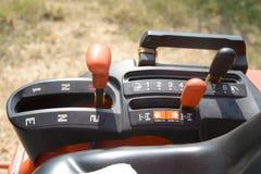 Drei Geschwindigkeits-Traktor-Schalthebel-Griff Lizenzfreie Stockbilder