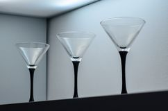 Drei Gläser lizenzfreies stockbild