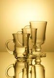 Drei Gläser Stockfotografie