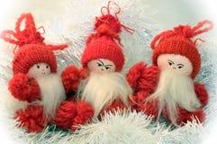 Drei Gnomes Stockbilder