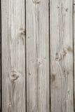 Drei hölzerne Planken grau Vertikaler Hintergrund Lizenzfreie Stockfotografie