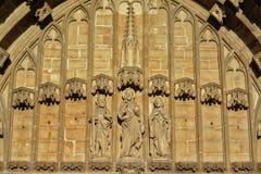 Drei Heilige, Sonderkommando des Heiligen Bavo Cathedral, Gent lizenzfreies stockfoto