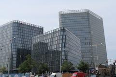 Drei Hochhaus lizenzfreie stockfotografie