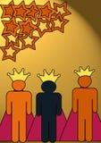 Drei Könige lizenzfreie abbildung