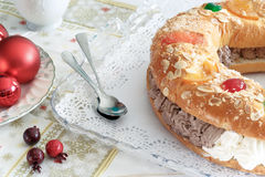 Drei Könige Bread stockfotografie