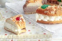 Drei Könige Bread lizenzfreie stockbilder