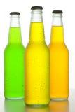 Drei kalte Getränke Stockbild