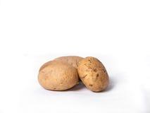 Drei Kartoffeln Lizenzfreies Stockbild
