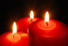 Drei Kerze lizenzfreies stockfoto