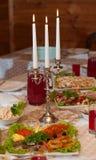 Drei Kerzen Stockfotografie