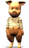 Drei kleine Schweine - Teil 1 Lizenzfreies Stockbild