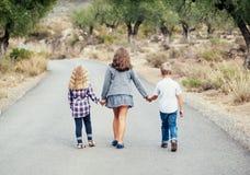Drei Kleinkinder Lizenzfreie Stockbilder