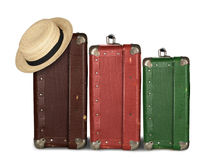 Drei Koffer Lizenzfreie Stockfotografie