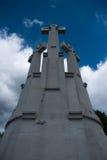 Drei Kreuze in Vilnius Stockbilder