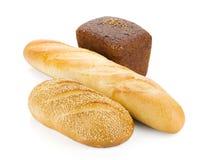 Drei Laibe Brot Lizenzfreie Stockfotografie