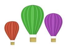 Drei Luftballone Lizenzfreies Stockbild